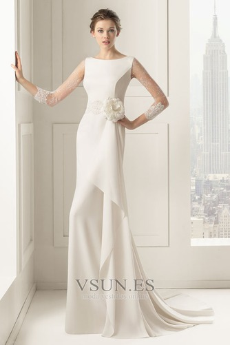 Vestido de novia Verano largo Modesto Flores Imperio Barco - Página 1