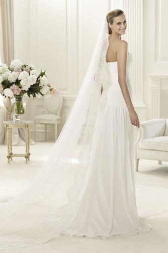 Vestido de novia Playa Apertura Frontal Espalda Descubierta Sencillo - Página 2