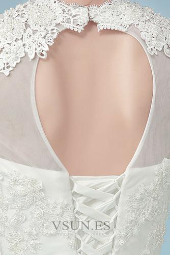 Vestido de novia Romántico Cordón Corte-A Fuera de casa Manga larga - Página 5