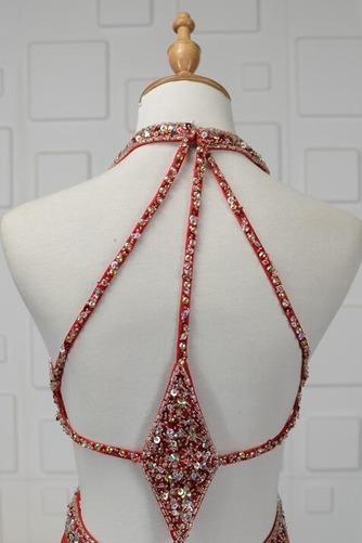 Vestido de fiesta primavera Elegante Pera Natural Cristal Satén Elástico - Página 5