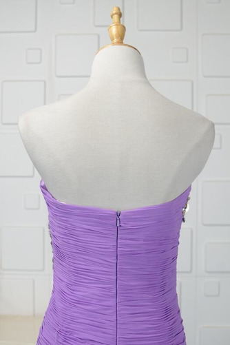 Vestido de fiesta Otoño Moderno Corpiño Acentuado con Perla Sin mangas - Página 5