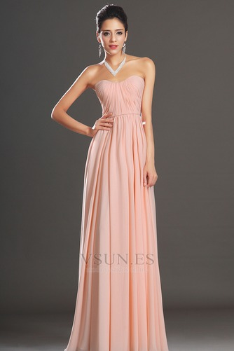 Vestido de noche elegante pequeñas Sin mangas Natural Corte-A Cremallera - Página 3