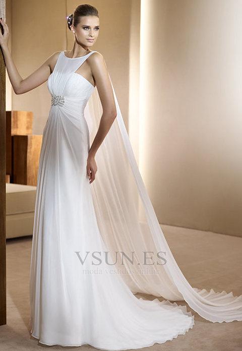 Vestidos novia en gasa