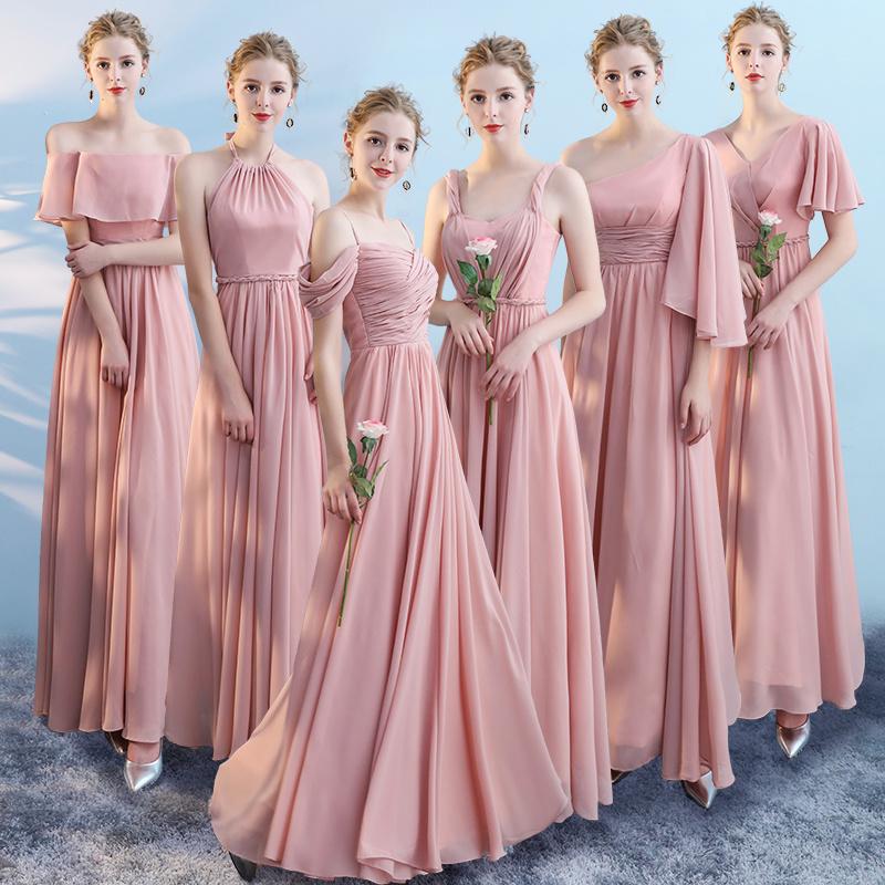 Vestidos para damas de honor sin escote