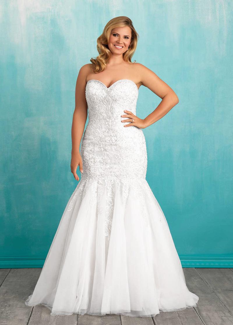 Vestido de novia Corte Sirena Sala primavera Sin mangas Cola Capilla ...