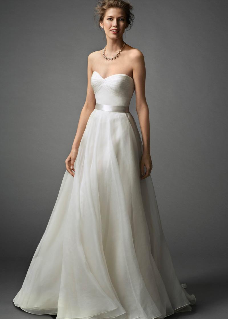 Vestido de novia Verano tul Escote Corazón Sin mangas Plisado Cola ...