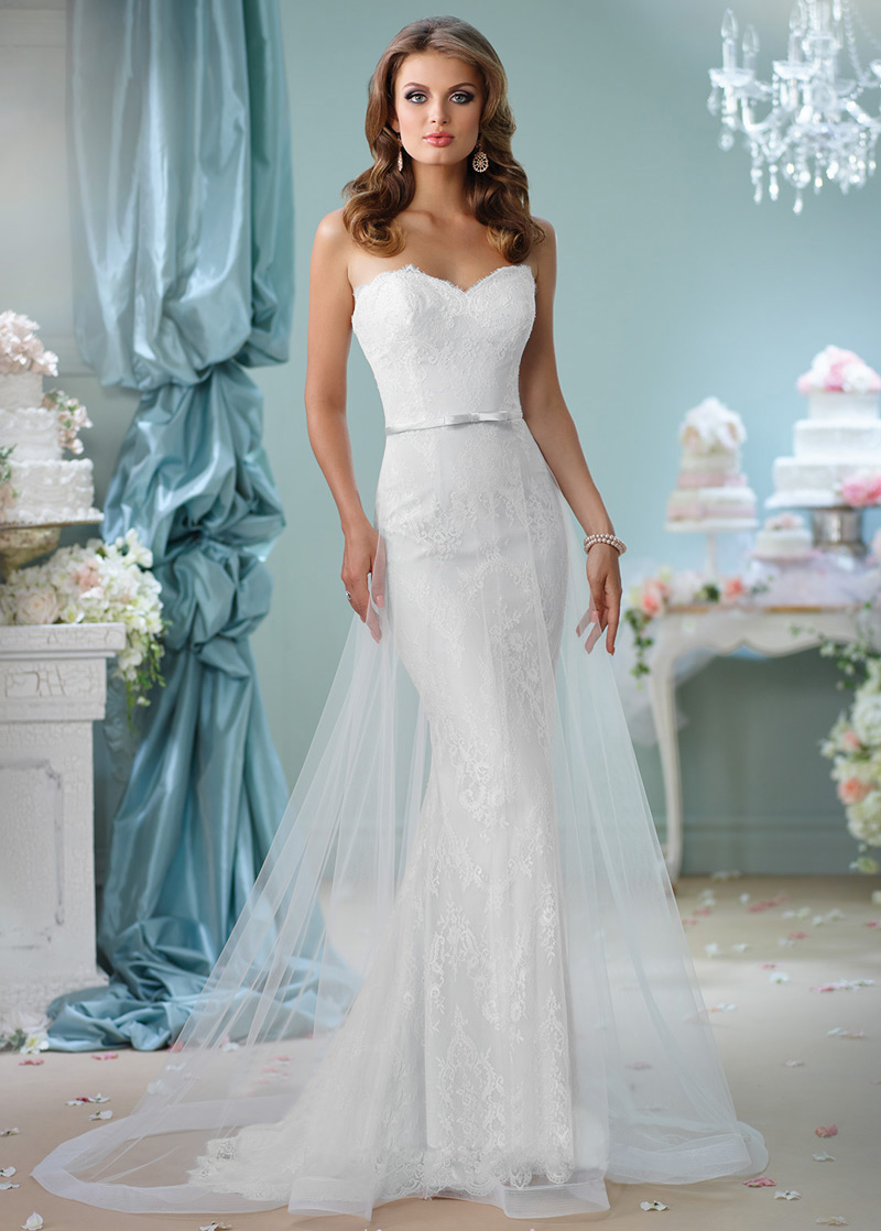 Vestido de novia Playa tul Natural Corte-A Fajas Elegante - vsun.es