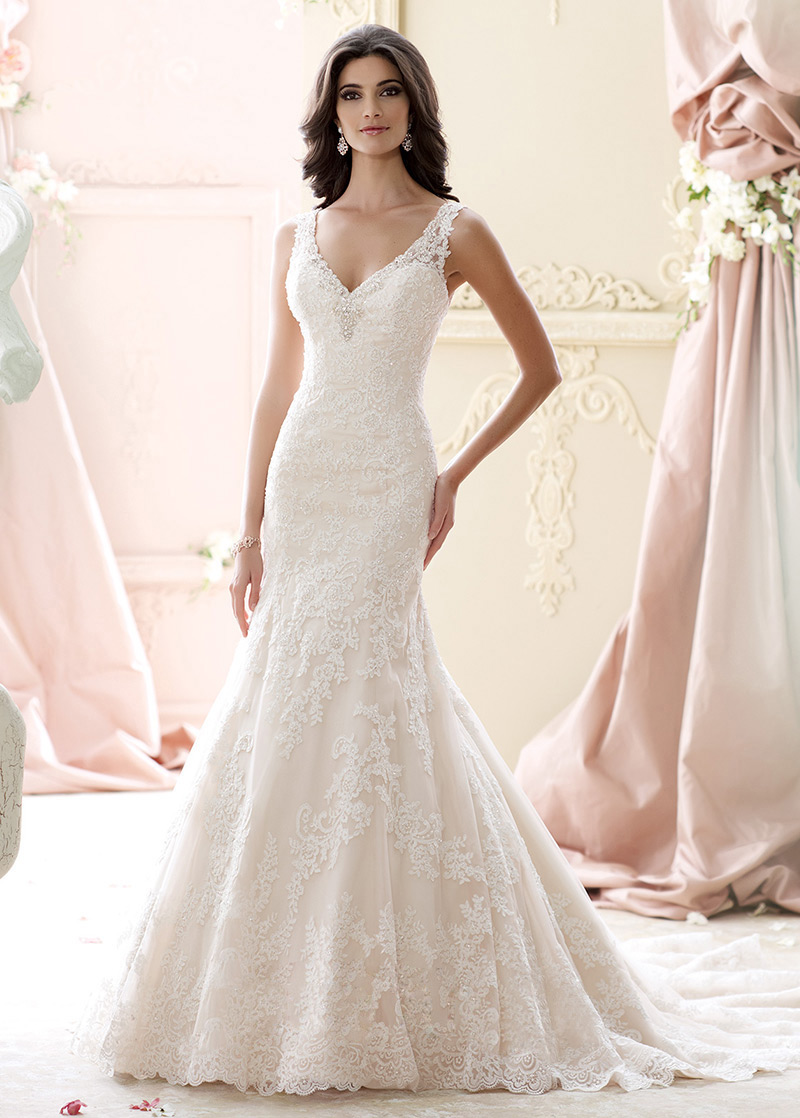 Vestidos corte sirena novia