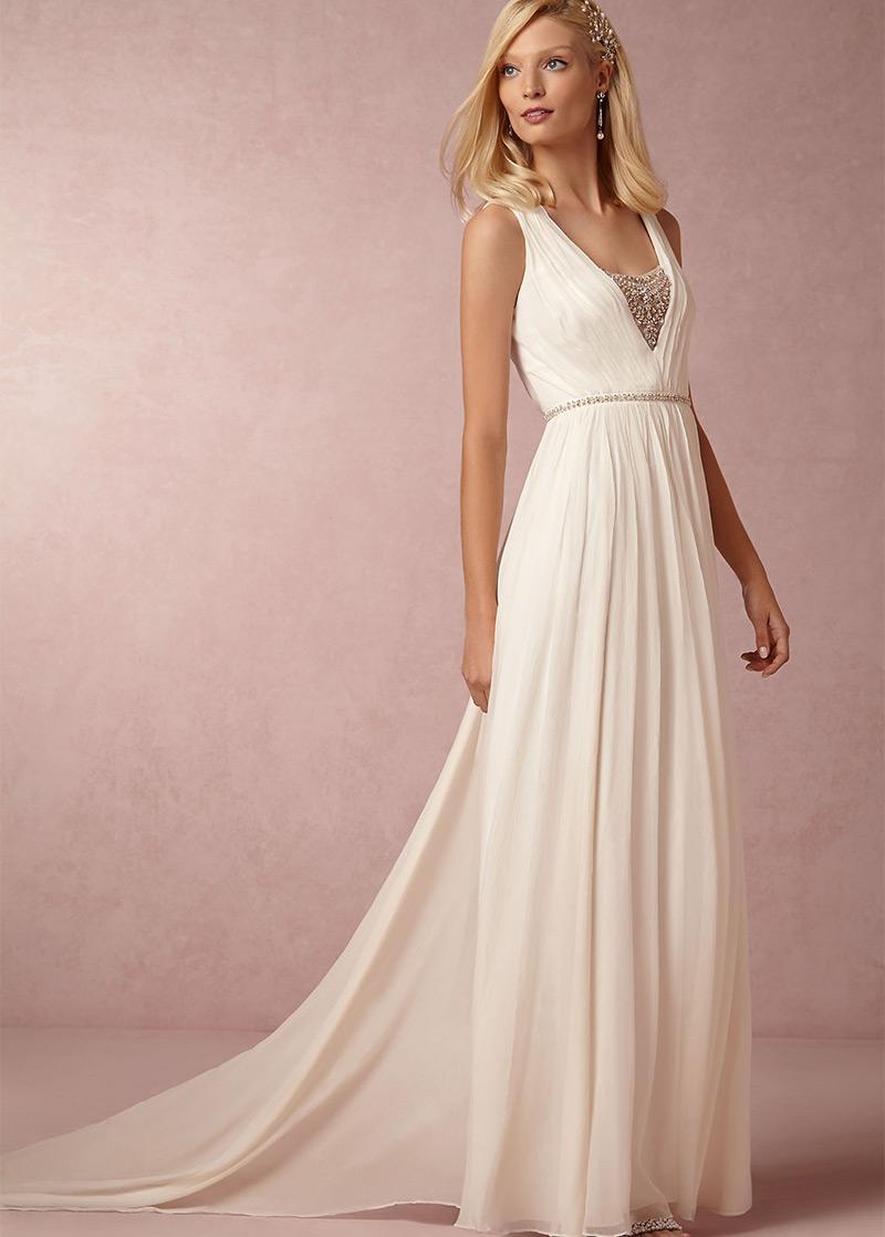 Origen de la cola del vestido de novia