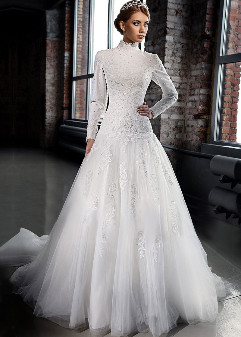vestido boda invierno