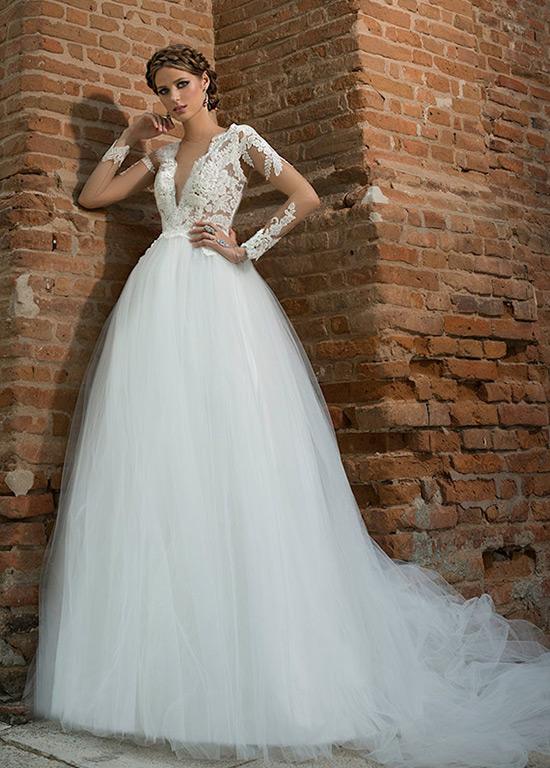 vestido de novia manga larga cola capilla baratos online página 5