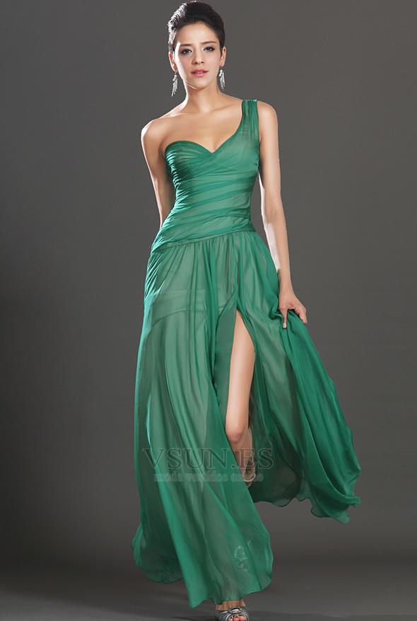 Vestidos elegantes para mujeres sin cintura