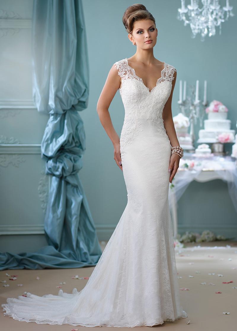 Vestido de novia Elegante Corte Sirena Verano Fuera de casa Natural ...