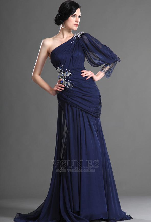 Modelos de vestidos de fiesta estilo sirena