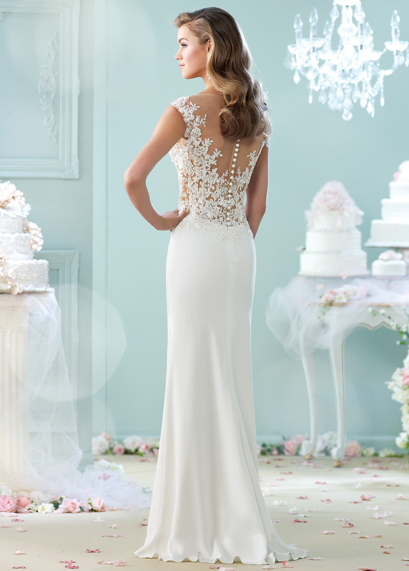 Amazing Vestidos Novia Encaje Contemporary - Wedding Ideas ...