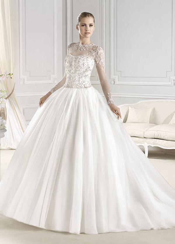 108ca4c99 Vestidos de novia manga larga con velo – Vestidos baratos