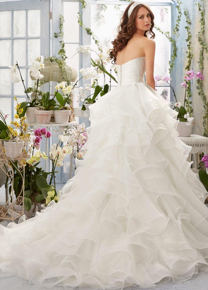 Vestido de novia Corte princesa largo Sin mangas Escote Corazón ...