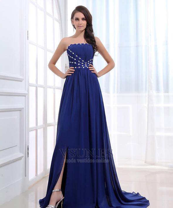 Vestido de fiesta Elegante primavera Corte-A