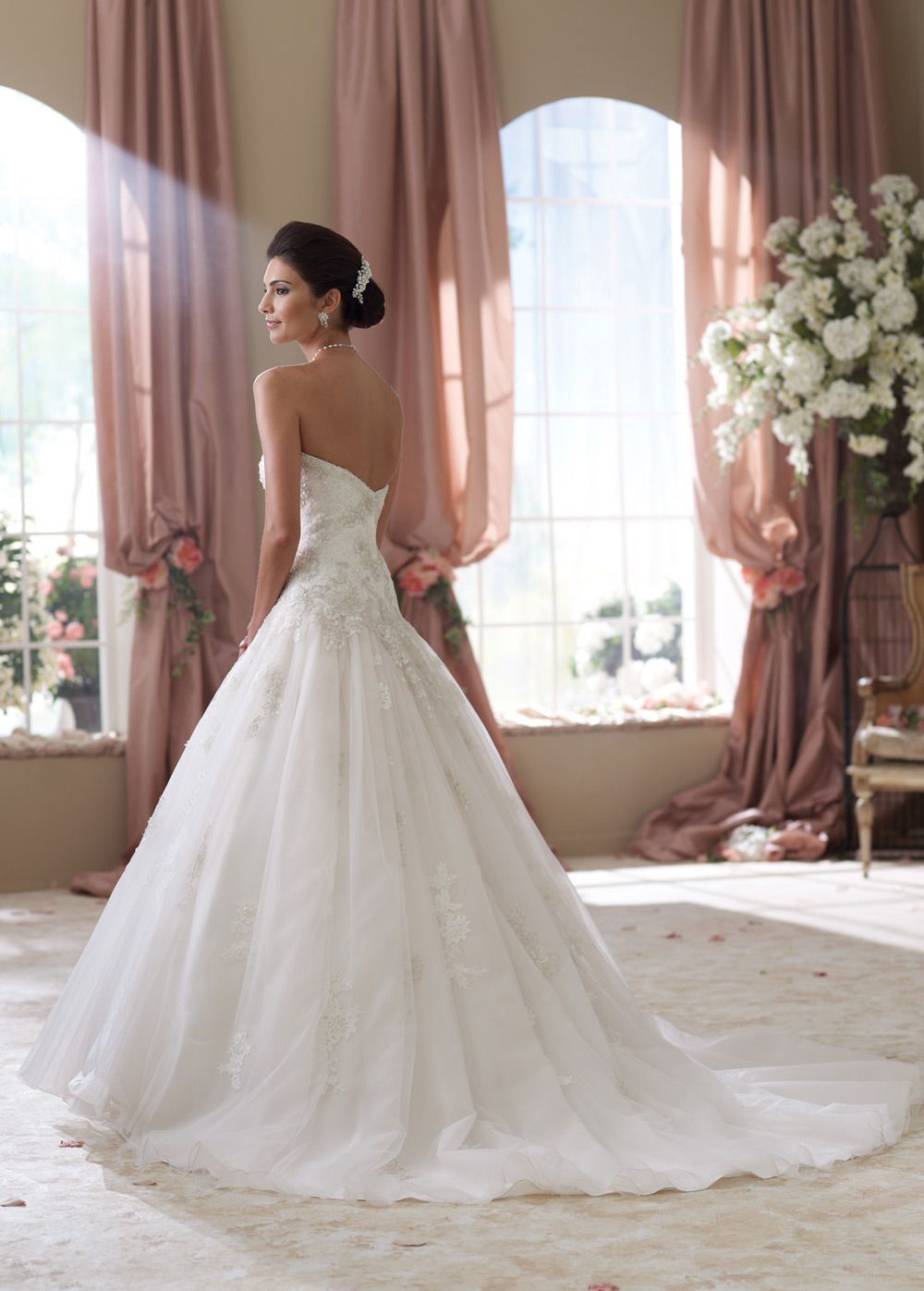 Vestido de novia con velo o sin velo