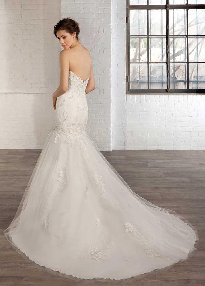 c290020a2 ... 1 Vestido de novia tul Natural Apliques Espalda Descubierta Escote  Corazón - Página 2 ...
