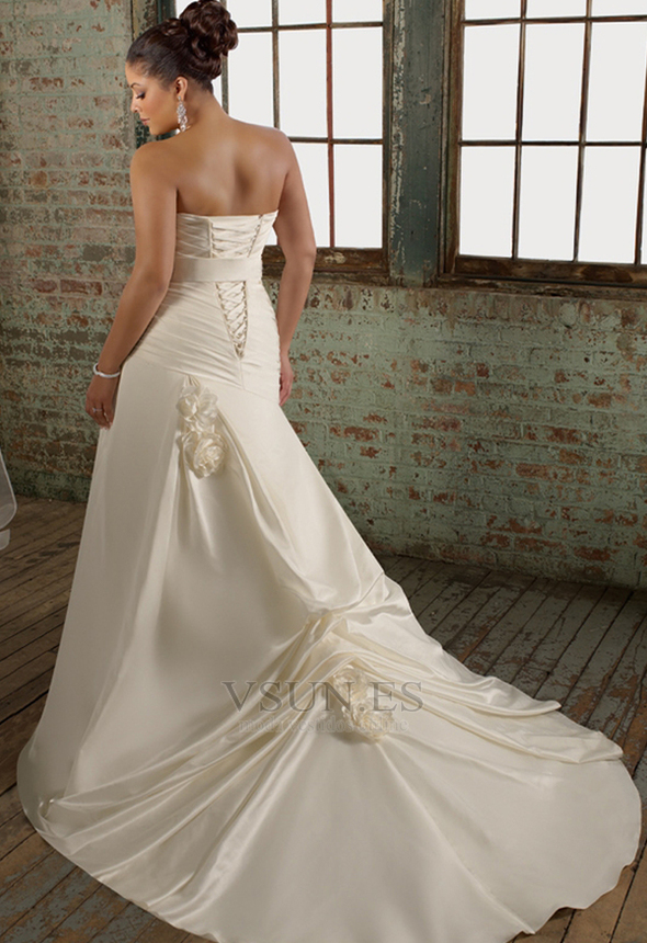 Vestidos de novia corte sirena 2015