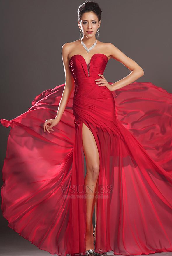 0be740ddc vestidos de fiesta en rubi