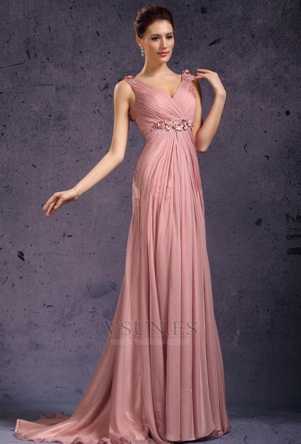 Famoso Plata Y Vestidos De Fiesta De Color Rosa Modelo - Vestido de ...