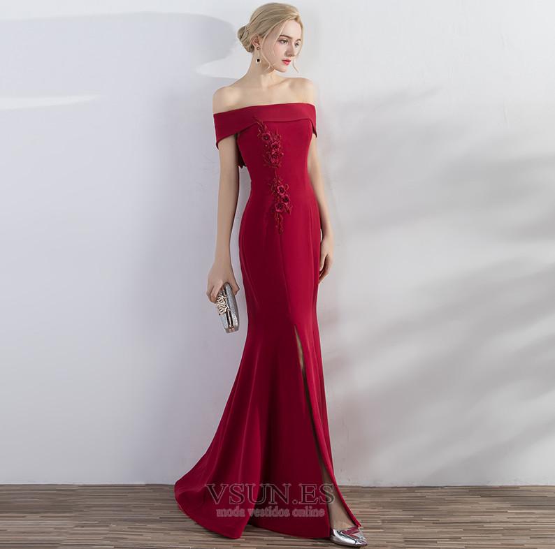 Vestido de noche Elegante Falta Camiseta Flores Satén Cordón - Página 1 ... d98ded025778