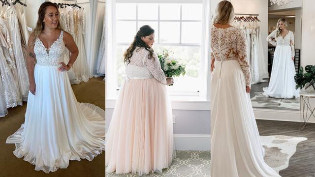 Vestidos de novia tallas grandes baratos online para gorditas página 3